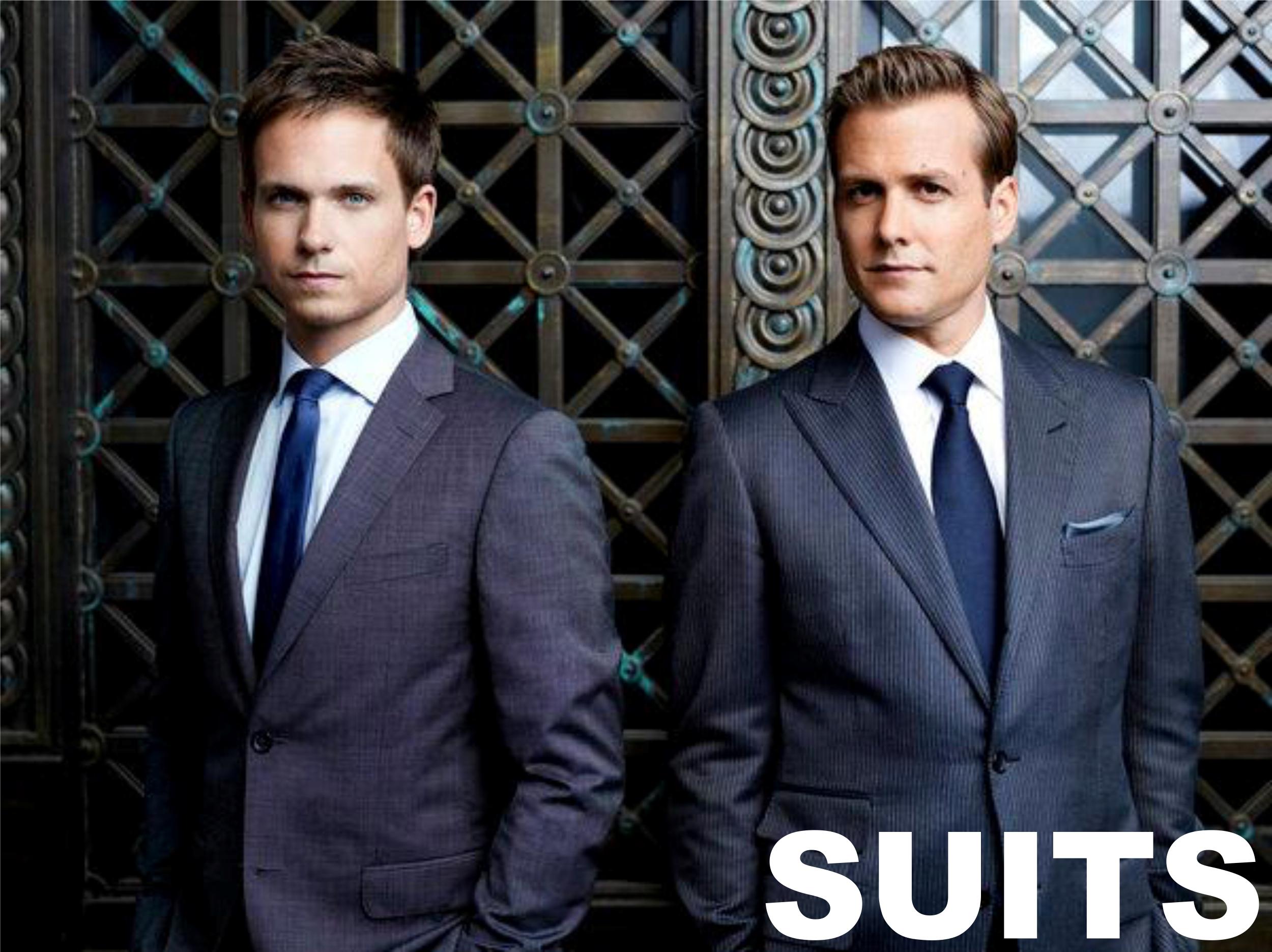 Suits - W garniturach tapeta2