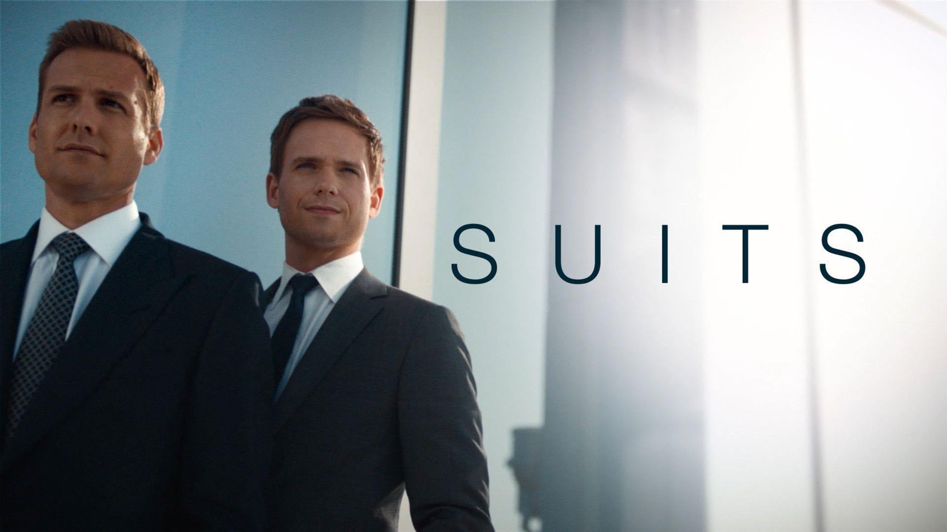 Suits - W garniturach tapeta4